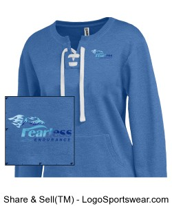 Blue Pullover Women's Design Zoom